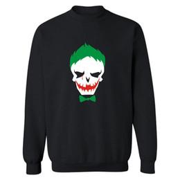 a759dad5 Joker Suicide Squad Hoodies Men Black Cotton Men Hoodies And Sweatshirt  Harley Quinn Street Wear Style Men Hoodies Xxs-3xl