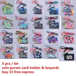 $enCountryForm.capitalKeyWord Australia - New whith tags Zip ID Case with Lanyard cotton coin purses small wallet