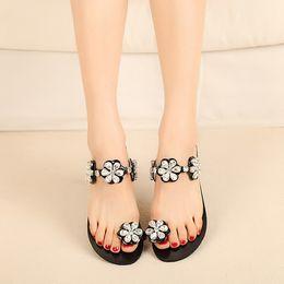 $enCountryForm.capitalKeyWord Australia - Sandals Woman Summer Shoes Posimi Second Pinch Flat Bottom Sandals Toe Sandy Beach Cool Slipper