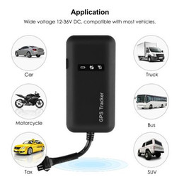 gps locator track Australia - Mini GPS Car Tracker GPS Locator Cut Off Fuel TK110 GT02A GSM GPS Tracker For Car 12-36V Google Maps Realtime Tracking Free APP