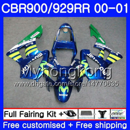 $enCountryForm.capitalKeyWord Australia - Body For HONDA Movistar Blue hot CBR900 RR CBR 929 RR CBR 900RR CBR929RR 00 01 279HM.3 CBR 929RR CBR900RR CBR929 RR 2000 2001 Fairings kit