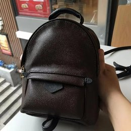 cell phone price Canada - High Quality Best Price Original Design leather mini women bag children backpack luxury girl famous fashion Springs Palm purse