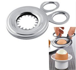 $enCountryForm.capitalKeyWord Australia - 105mm Stainless Steel Egg Cutter Boiled Egg Slicer Eggshell Opener Kitchen Household Tool Free Shipping WB99