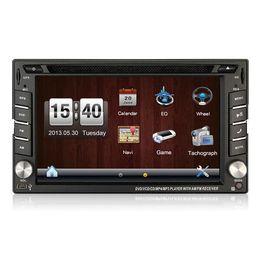 Rw Player Australia - 100% New universal Car Radio Double 2 din Car DVD Player GPS Navigation In dash Car PC Stereo Head Unit video+Free Map