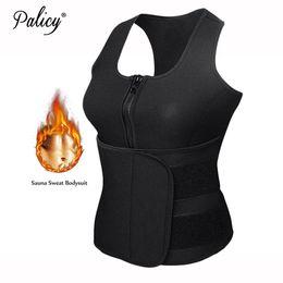 2373f549c26 wholesale NEW Neoprene Sauna Vest Body Shaper Slimming Waist Trainer  Fashion Workout Shapewear Adjustable Sweat Belt for Women