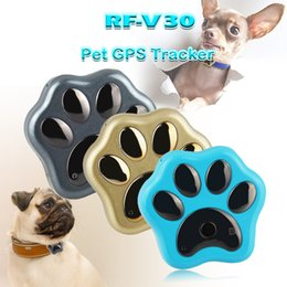 $enCountryForm.capitalKeyWord Australia - Pets Mini GPS Tracker Dog WiFi GSM GPRS RF-V30 Phone Real Time Tracking Global SMS Locator Waterproof Anti Lost Kids Baby Cat