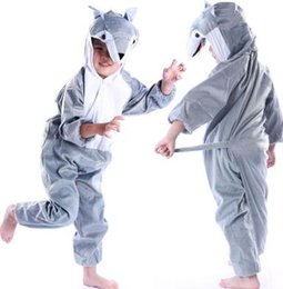 $enCountryForm.capitalKeyWord UK - New style the 2018 children cosplay Grey Wolf Lion cat Suitable for boys and girls Stage costume short style dancing clothe