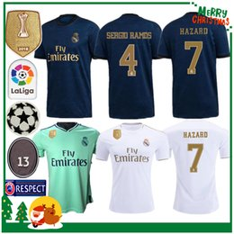 6c43cad51 19 20 Real madrid fútbol Jersey Benzema JOVIC MILITAO Modric Ramos Bale  PELIGRO 2019 2020 adulto hombre mujer niños niño deportes Fútbol camiseta