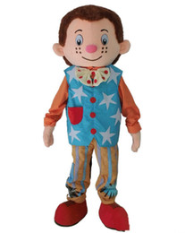 $enCountryForm.capitalKeyWord Australia - 2019 Hot sale Mr. Tumble mascot costume boy mascot costume for adult Halloween Carnaval costume