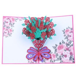 20x15cm 3D Christmas Themed Pop Up Cards For Birthday Gift Holiday Greeting Card With Envelope Wedding Party Decoration