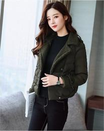 $enCountryForm.capitalKeyWord NZ - Free shipping 06 fashion Korean version of Harajuku women's lamb plush thick cotton clothes ladies short paragraph small cotton jacket winte