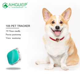 card track UK - AHGUEP tracking devices without sim card mini rastreador personal child locator gps tracker earrings for kids