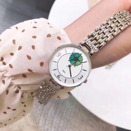 Valentine Gifts For Ladies Australia - Ultra thin brand women watch luxury flower dial Stainless Steel band quartz wrist watches for ladies best Valentine gift relojes mujer 2019