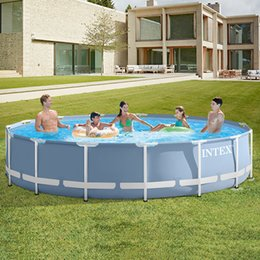 Wholesale INTEX brand swimming pool thickening children's home large pool collapsible fish pond commercial adult