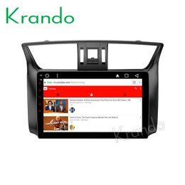 """Nissan Audio Australia - Krando Android 8.1 9"""" IPS Full touch car dvd Multimedia player for Nissan Sentra 2012+ Bluebird Sylphy 2012+ audio player gps wifi"""