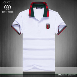 $enCountryForm.capitalKeyWord NZ - IDUZI 19ss New Casual Striped Men Polo shirts Summer Short-sleeve Homme Slim Fit Camisas Men Clothing Plus Size