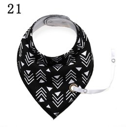 $enCountryForm.capitalKeyWord UK - Toddler Baby Scarf Triangle Saliva Towel Bibs Bandana Head Cotton Cute Feeding