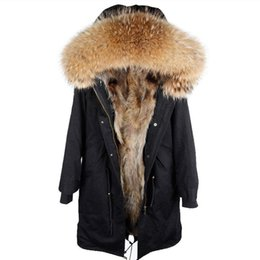 $enCountryForm.capitalKeyWord UK - 2018 new winter jacket women x-long over the knee parka real fur coat big raccoon fur collar hooded outwear thick warm parkas