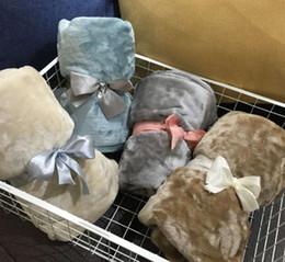 Fleece carpet online shopping - 2019 latest cm styles original single blanket thickening mesh flannel office children s towel blanket knee blanket car carpet