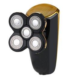 $enCountryForm.capitalKeyWord Australia - Jinding Jd - 608 Electric Shaver For Men Hair Trimmer Rechargeable 3D Floating Head Five-Blade Razor Shaving Machine