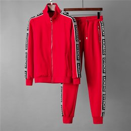 Wholesale long ankle length coats cardigans for sale - Group buy Fashion Luxury Mens Designer Tracksuits Sweatshirts Suits Casual Sports Suit Men Hoodies Jackets Coats Sweatshirt Tracksuit Jacket RT183