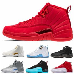 $enCountryForm.capitalKeyWord Canada - 2019 New XII 12s High OVO Black Flu Game Playoffs Gym Red 12s Men Basketball Designer Running Psny 12 Shoes Sneakers Size 40-47