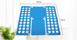 $enCountryForm.capitalKeyWord Australia - Clothes Folding fast Board Adult Kid Clothes Shirts Folder Fast Easy Laundry Home Organizer Magic Fast Folding Slacker Plastic Material