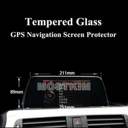 gps for bmw series NZ - Tempered Glass GPS Navigation Screen Protector For BMW 3 4 Series F30 F32 F34