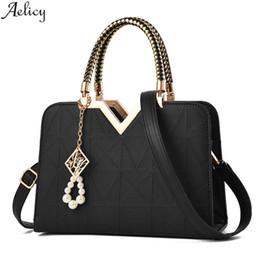 $enCountryForm.capitalKeyWord NZ - Aelicy Women's Fashion Satchels Pu Leather Square Bag Lady Versatile Chic Temperament Stylish Handbag Totes Bag Hot Sales New