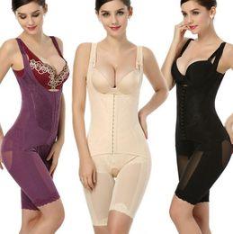 2d797e2bbf5 Full Bodysuit Shapewear Australia - Women Full Body Waist Shaper Carry  buttock pants Slimming Underbust Waist