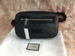 Hot Mens Taille Hüfttasche Luxus Fanny-Satz hohe Qualität lässig Brust sackt Art und Weise im Freien Sporttasche freies Verschiffen im Angebot