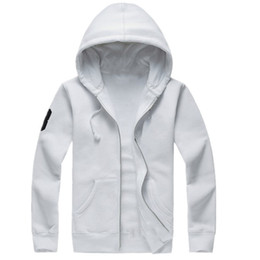 o melhor hoodie do zipper venda por atacado-lauren ralph polo Ralph lauren Mens polo Hoodies e camisolas casual outono inverno com uma jaqueta esporte capuz zipper melhor qualidade Transporte livre dos homens casuais