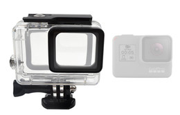 $enCountryForm.capitalKeyWord NZ - Gopro accessopries 45m Underwater Diving Waterproof Protective Case Shell Cover Housing Skeleton frame for Gopro hero 5 6 Hight Quality