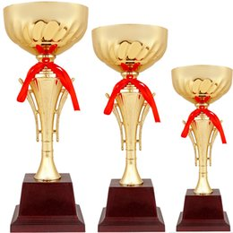 metal awards UK - Metal Trophy Customize Souvenir Team Individual Sports Competition Awards School Academy Contest Prize Winner Trofeo Cup Design