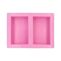 rectangle cake decoration Australia - Hand Made Cuboid Shape Molds Rectangle Soap Mold Silicone Craft DIY Soap Making Mould Fondant Cake Decoration Tools wh0187