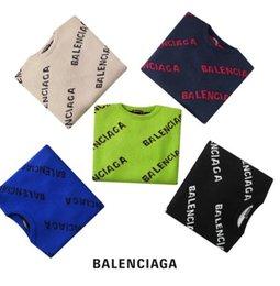 Boys pullover sweatshirts online shopping - Mens Sweater Pullover XXW balenciaga Brand Deisgner Hoodie Long Sleeve Designer Sweatshirt Letter Embroidery Knitwear Winter Clothing