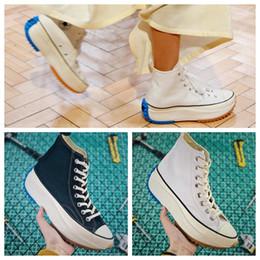 Canvas Hiking Shoes Australia - 2019 Modern fashion platform shoe new British clothing brand chuck Run Star Hike 1970S super sponge sole fashion canvas sneakers black white