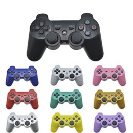 Computer Wireless Controller NZ - PS3 game console controller wireless Bluetooth gamepad joystick double support handle games joysticks for computer ps3 system
