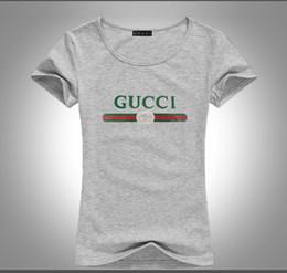 Cute summer shirts online shopping - 2019 summer new fashion T shirt casual graffiti cute ladies T shirt monogram printed T shirt short sleeve O collar pure cotton comfort