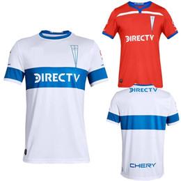 6c9fa399987 Chile Home Jersey UK - 2019 2020 University of Chile Club Universidad  Catolica Soccer Jerseys Custom