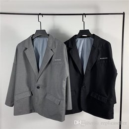Gore Tex Xcr Jacket Australia - 19ss spring new luxurious brand design BB Leisure suit old school Jacket Women Men Casual Sweatshirts Streetwear Outdoor Jackets