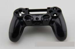 China Smooth Black White Replacement housing shell case Cover Protective For PS4 Playstation 4 Game Controller Repair Parts renovation cheap ps4 controller repair parts suppliers