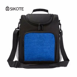 Picnic Ice Packs Australia - SIKOTE Oxford cloth business cooler bag Insulation cold keeping ice pack Going out for a picnic insulation lunch pack