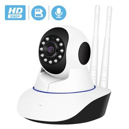 tilt network camera Canada - BESDER Wireless IP Camera 1080P WiFi Network Security Night Vision Audio Video Surveillance CCTV Camera P2P ICSee Baby Monitor T191018