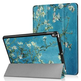 "$enCountryForm.capitalKeyWord Australia - Colorful Painted Auto Sleep Wake UP Smart Cover for Apple iPad Air 3 (Air 3rd Gen) 10.5"" Tablet Tri-folding PU Leather Case+Stylus"