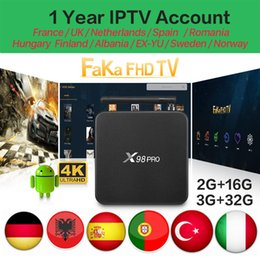Android Tv Box Portugal Australia - Europe Iptv X98 pro Android Tv Box With 1 Year Iptv Subscription France Arabic Canada Portugal Spain Italy Turkey EX-YU Germany IPTV