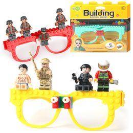 Kids Blocks Wholesale Australia - Glasses Frame Base plate building Blocks Compatible Legoed city figures classic DIY Brick BasePlate Educational Toy for children z320