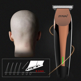 cordless cutter NZ - 100-240V professional Hair Trimmer Electric Hair Clipper For Men Beard Trimmer hair cutter Barber Cordless haircut machine 0 mmMX190925