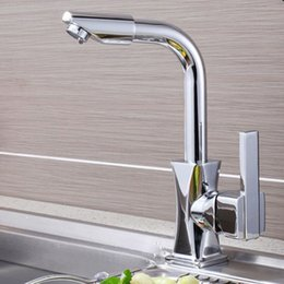 $enCountryForm.capitalKeyWord Australia - 360 Degrees Home Cold-Hot Water Rotatable Bathroom Basin Faucet Fast Brass Kitchen Mixer Tap Modern Single Hole Deck Mounted