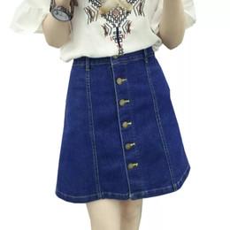 c27014598 Falda De Jeans De Talla Grande Online | Falda Mujer Tallas Grandes ...